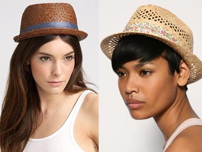Эти головные уборы хорошо дополнят платья в стиле ретро или джинсовые.